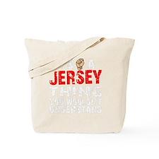 Jersey Thing - dk Tote Bag