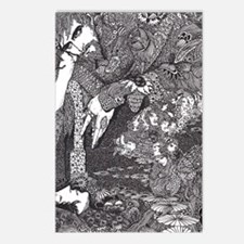 Morella by Harry Clarke Postcards (Package of 8)