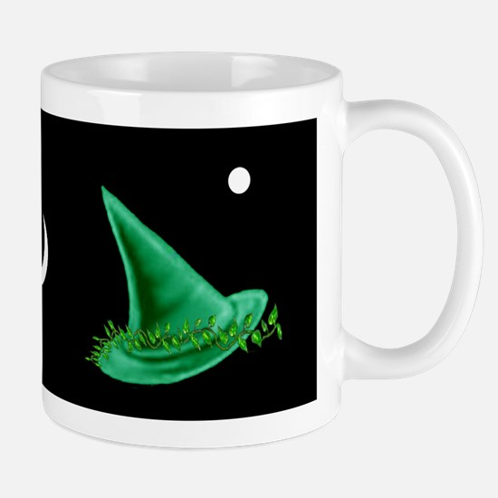 Green Witch's Hats Mug