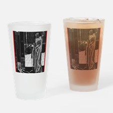 The Masque of the Red Death Drinking Glass