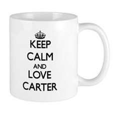 Keep calm and love Carter Mugs