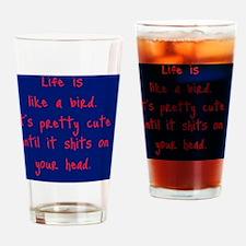 likeabird_r_rnd2 Drinking Glass