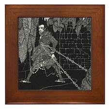 The Cask of Amontillado Framed Tile