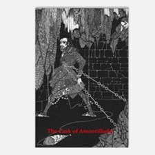 The Cask of Amontillado Postcards (Package of 8)