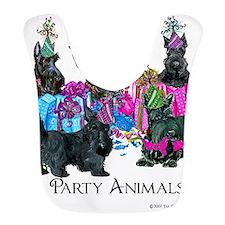 Scottish Terrier Party Animals Bib