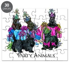Scottish Terrier Party Animals Puzzle