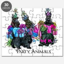 Scottish Terrier Party Animals Puzzle