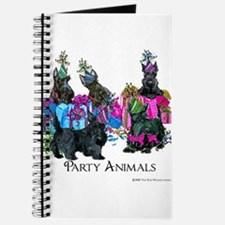 Scottish Terrier Party Animals Journal