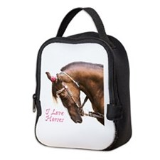 Horse Neoprene Lunch Bag