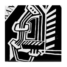 KANT philosopher Tile Coaster