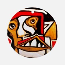 KAFKA writer Ornament (Round)