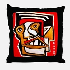 KAFKA writer Throw Pillow