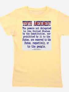 Tenth Amendment Girl's Tee
