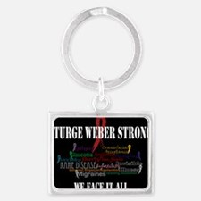 We Face It Keychains