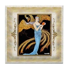 Keepsake 7 july ADF-Phoenix Tile Coaster