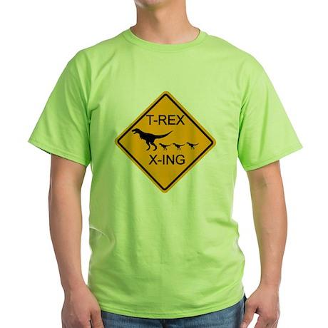 rs_T-REX X-ING Green T-Shirt