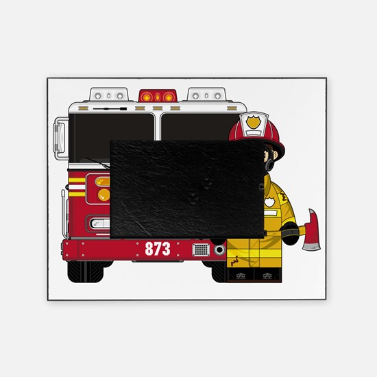 Fireman Pad5 Picture Frame