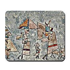 Klee - Promenade in the Orient, Paul Kle Mousepad