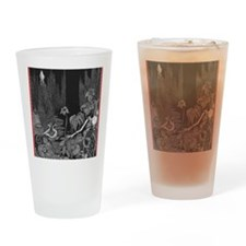 The Silence by Poe Drinking Glass