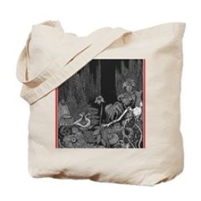 The Silence by Poe Tote Bag