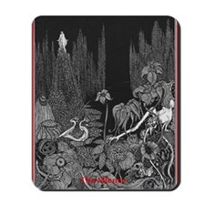 The Silence by Poe Mousepad