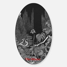 The Silence by Poe Decal