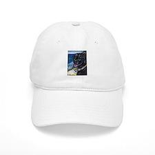 Happy Black Labrador Baseball Baseball Cap