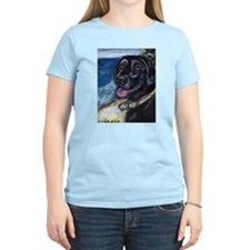 Happy Black Labrador T-Shirt