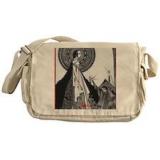 Ligiea by Edgar Allan Poe Messenger Bag