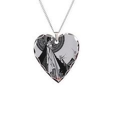 Ligiea by Edgar Allan Poe Necklace Heart Charm