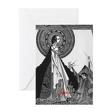 Ligiea by Edgar Allan Poe Greeting Card