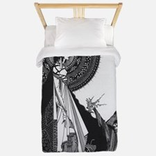 Ligiea by Edgar Allan Poe Twin Duvet