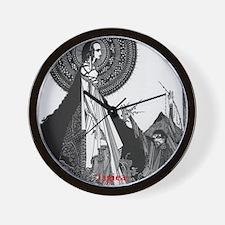 Ligiea by Edgar Allan Poe Wall Clock