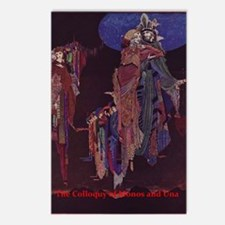 Colloquy of Monos and Una Postcards (Package of 8)