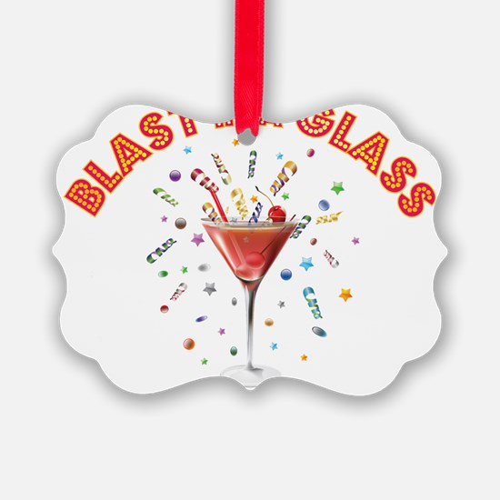BLAST IN A GLASS Ornament