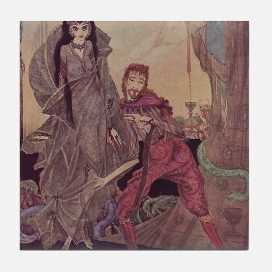 Ligiea by Edgar Allan Poe Tile Coaster