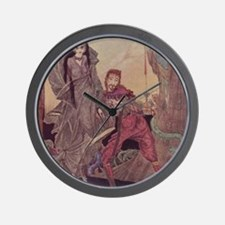 Ligiea by Edgar Allan Poe Wall Clock
