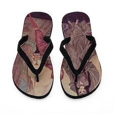 Ligiea by Edgar Allan Poe Flip Flops