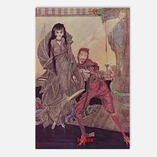 Ligiea by Edgar Allan Poe Postcards (Package of 8)