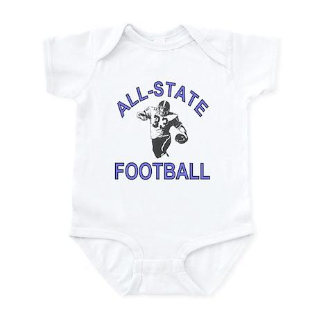 All-State Football Infant Bodysuit