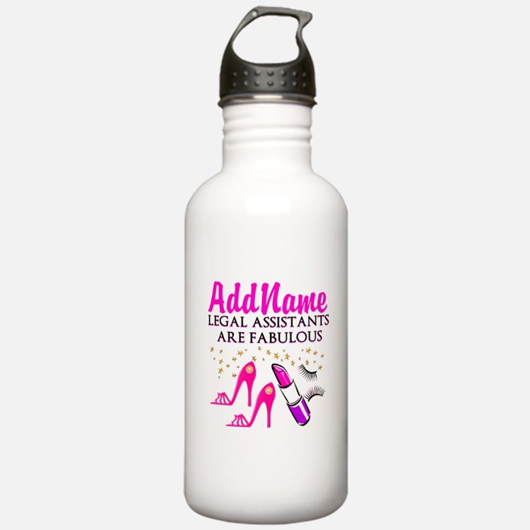 CUSTOM LEGAL ASST Water Bottle