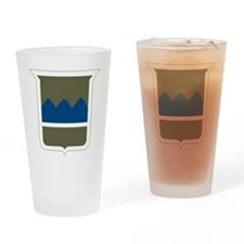 80th Infantry Division Drinking Glass