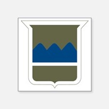 "80th Infantry Division Square Sticker 3"" x 3"""