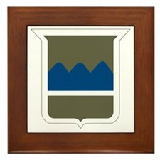 80th Infantry Division Framed Tile