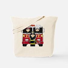 Fireman Pad8 Tote Bag
