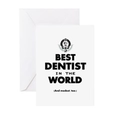 The Best in the World – Dentist Greeting Cards