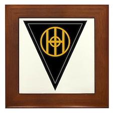83rd Infantry Division Framed Tile