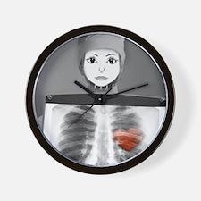 avatar helen, medical Wall Clock