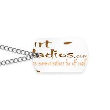 DirtRadios_Logo_HiRes Dog Tags