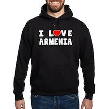 I Love Armenia Hoodie
